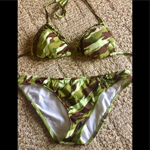 af8badc1b44 Roxy Swim | Beautiful Bikini By In Medium Top Is Small | Poshmark